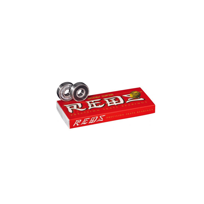 BONES SUPER REDS (SET OF 08) - Urban Ave Boardshop