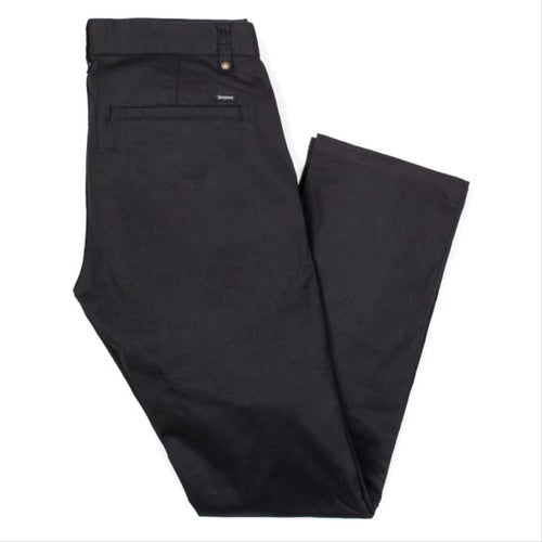 BRIXTON CHOICE CHINO PANT - BLACK - Urban Ave Boardshop