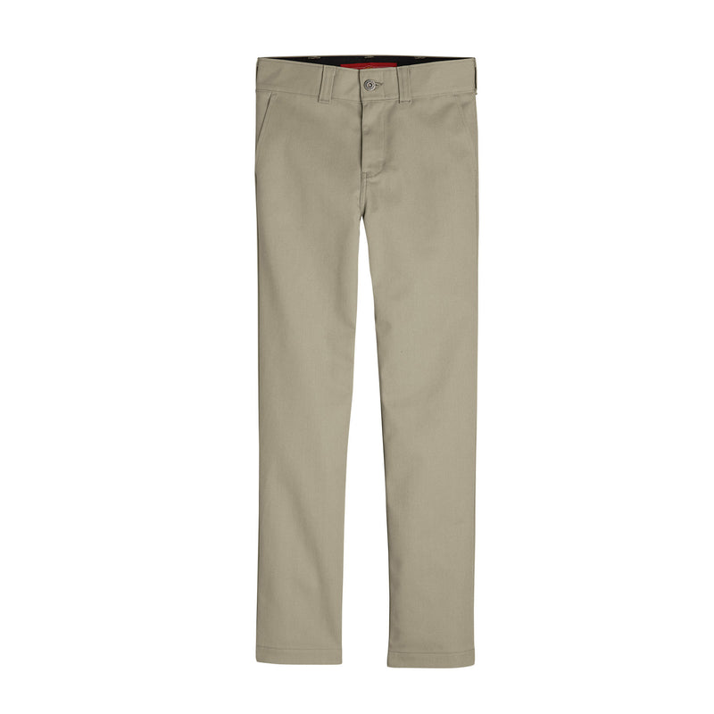 DICKIES '67 SLIM FIT FLEX BOYS' PANTS (DESERT SAND) - Urban Ave Boardshop