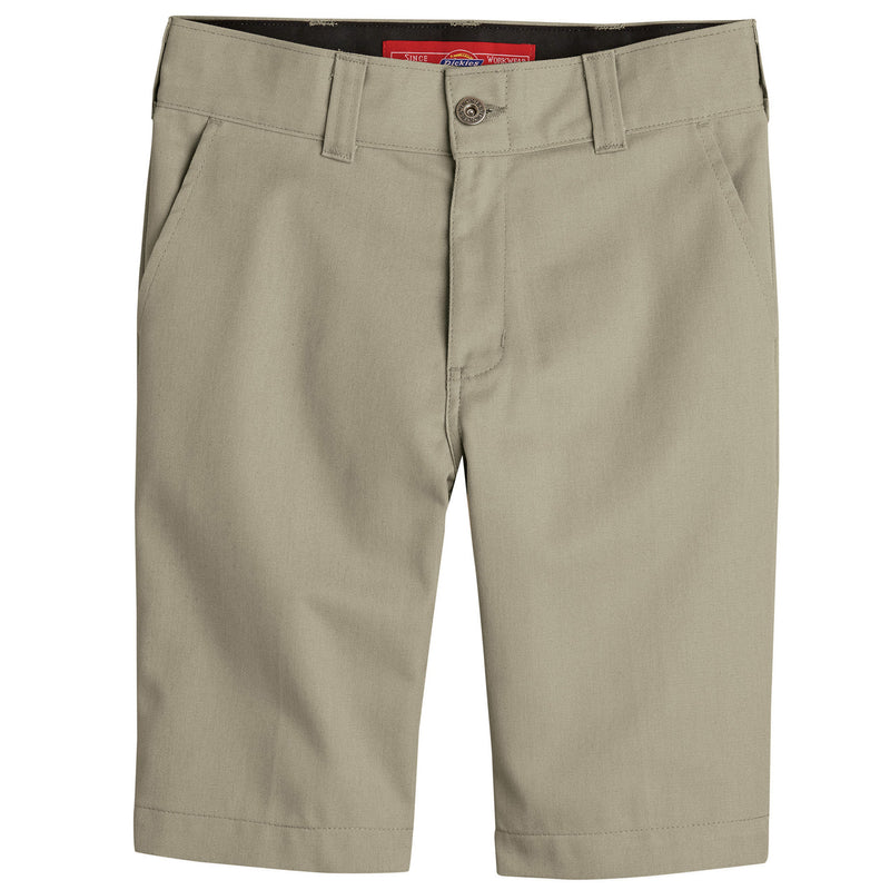 DICKIES '67 SLIM FIT FLEX BOYS' SHORTS (DESERT SAND) - Urban Ave Boardshop