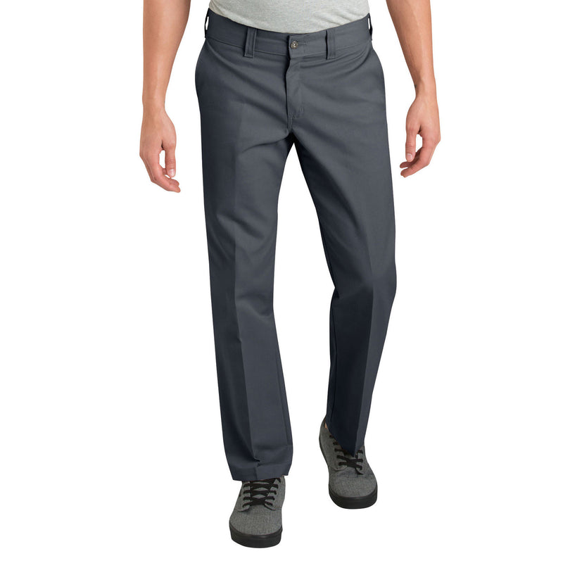 DICKIES '67 SLIM STRAIGHT LEG WORK PANTS (CHARCOAL) - Urban Ave Boardshop