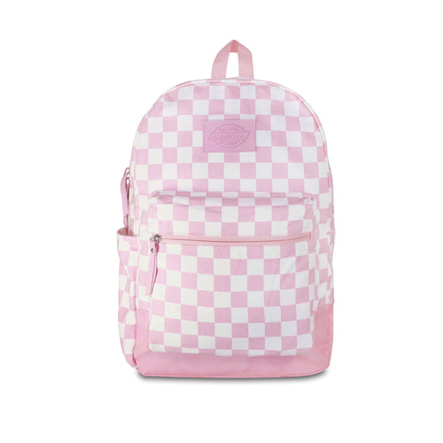 DICKIES COLTON BACKPACK PINK / WHITE CHECKERBOARD