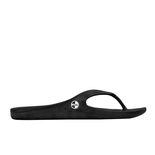 DUAL FOOTWEAR LIBE FLIP FLOP BLACK - Urban Ave Boardshop