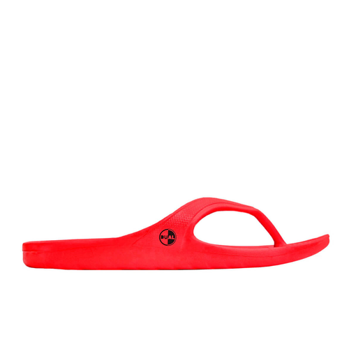 DUAL FOOTWEAR LIBE FLIP FLOP RED - Urban Ave Boardshop