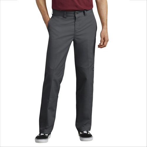 DICKIES 67 REGULAR FIT DOUBLE KNEE PANT (CHARCOAL)