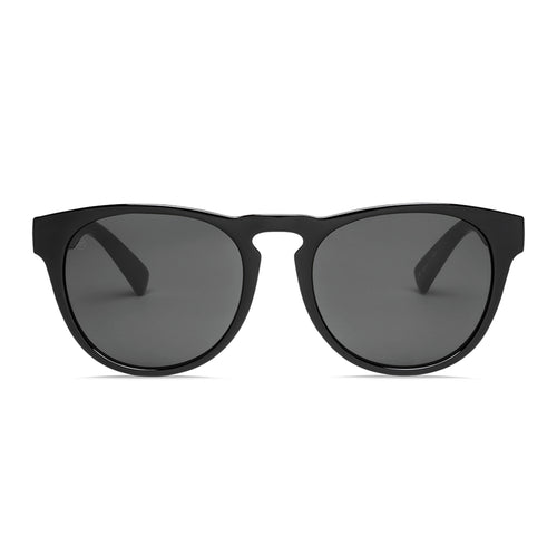 ELECTRIC NASHVILLE GLOSS BLACK/OHM POLARIZED GREY - Urban Ave Boardshop