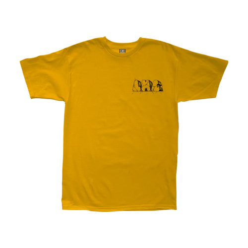 Loser Machine Rock Hard Tee Gold - Urban Ave Boardshop