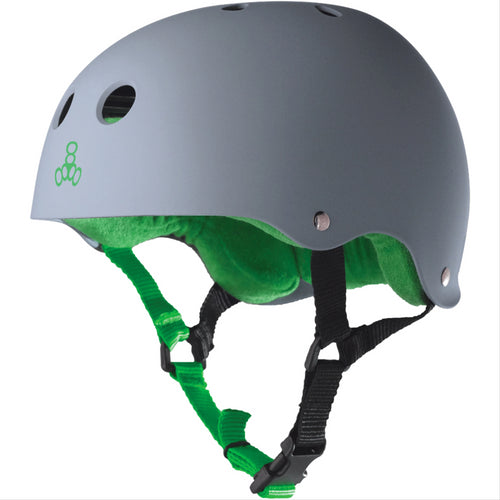 TRIPLE 8 Sweatsaver Helmet Carbon Rubber
