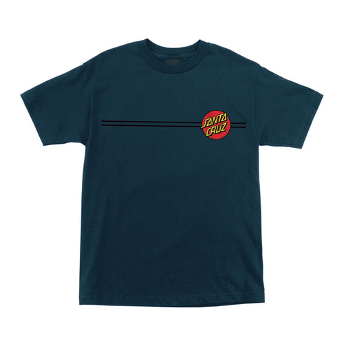 SANTA CRUZ CLASSIC DOT S/S MENS T-SHIRT HARBOR BLUE