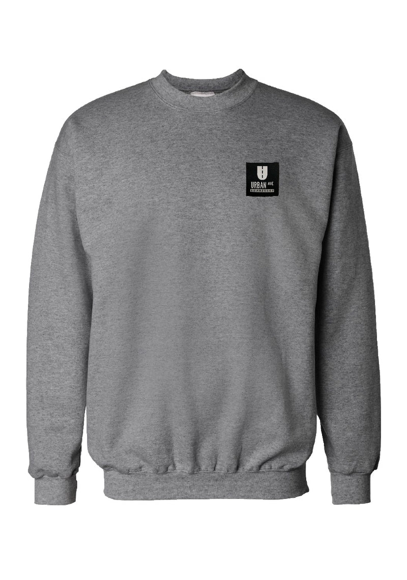 URBAN AVE BOARDSHOP CREW NECK SWEATSHIRT - Urban Ave Boardshop