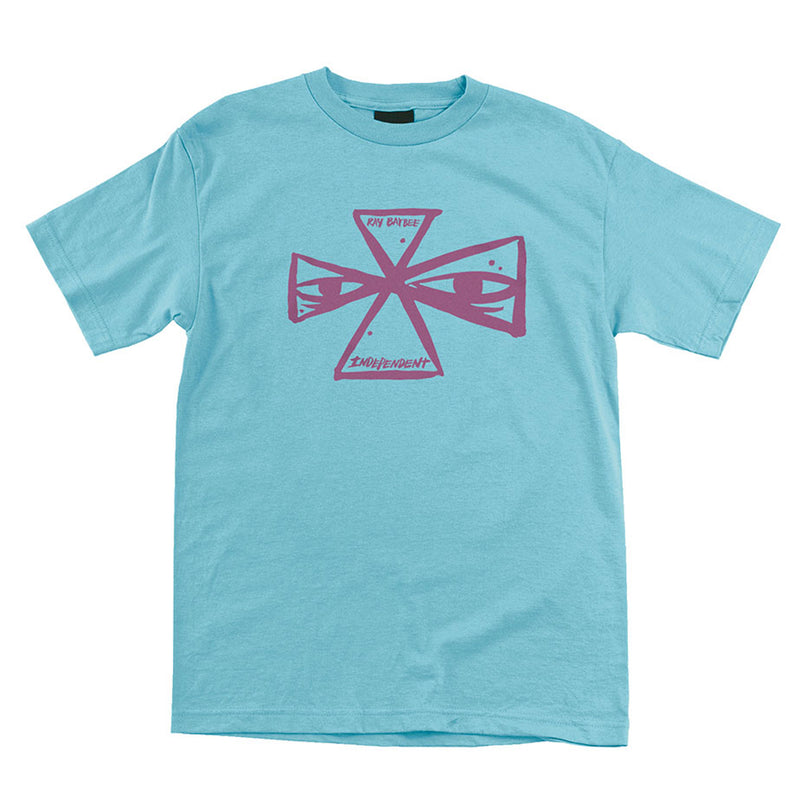 INDEPENDENT BARBEE CROSS S/S REGULAR T-SHIRT MENS PACIFIC BLUE - Urban Ave Boardshop