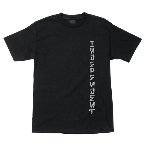 INDEPENDENT DRESSEN MONUMENT S/S REGULAR T-SHIRT MENS BLACK - Urban Ave Boardshop