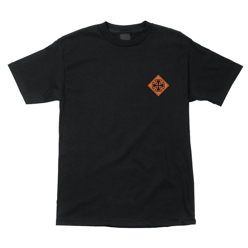 INDEPENDENT INDUSTRY S/S REGULAR T-SHIRT YOUTH BLACK - Urban Ave Boardshop