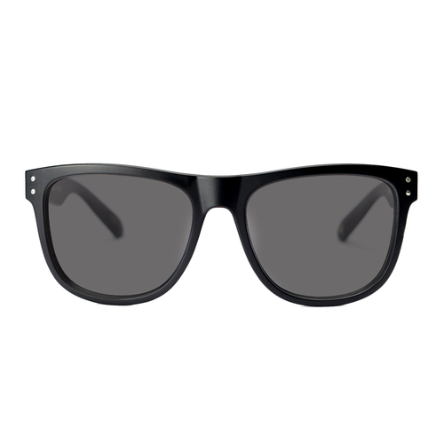 MADSON METRO MATTE BLACK GREY POLARIZED