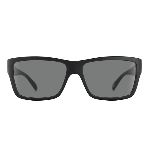 MADSON PISTON  BLACK ON BLACK GREY POLARIZED