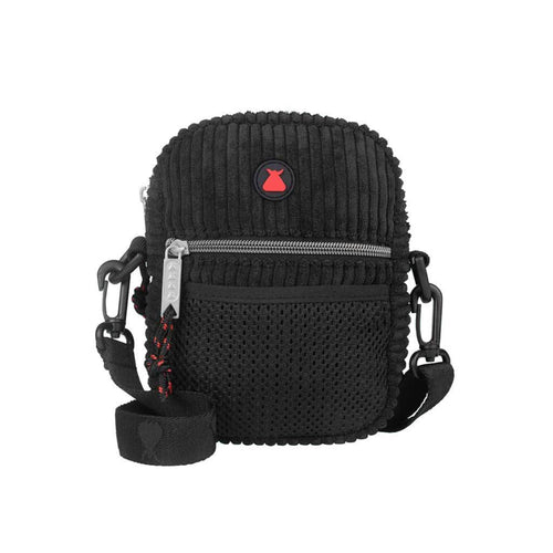 Bumbag Midnight Compact Shoulder Bag - Black - Urban Ave Boardshop
