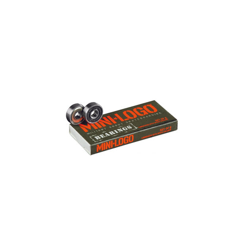 MINI LOGO BEARINGS (Set of 8) - Urban Ave Boardshop