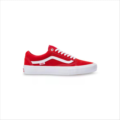 VANS OLD SCHOOL PRO RED/WHITE