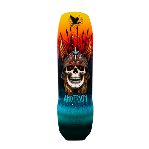 POWELL PERALTA ANDY ANDERSON HERON PRO FLIGHT 8.45 X 31.75