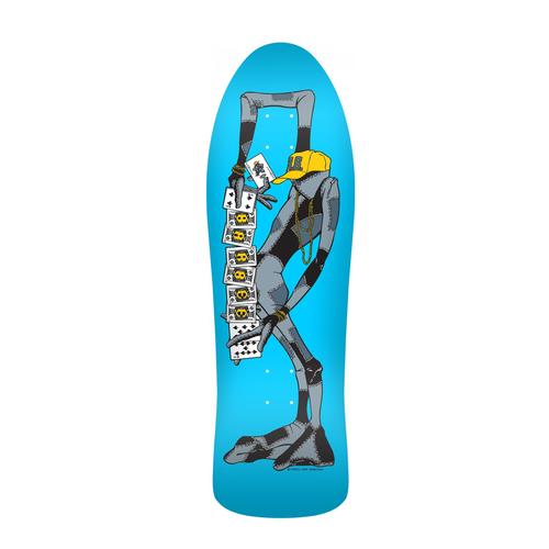 POWELL PERALTA RAY BARBEE RAG DOLL BLUE 10 x 31.875