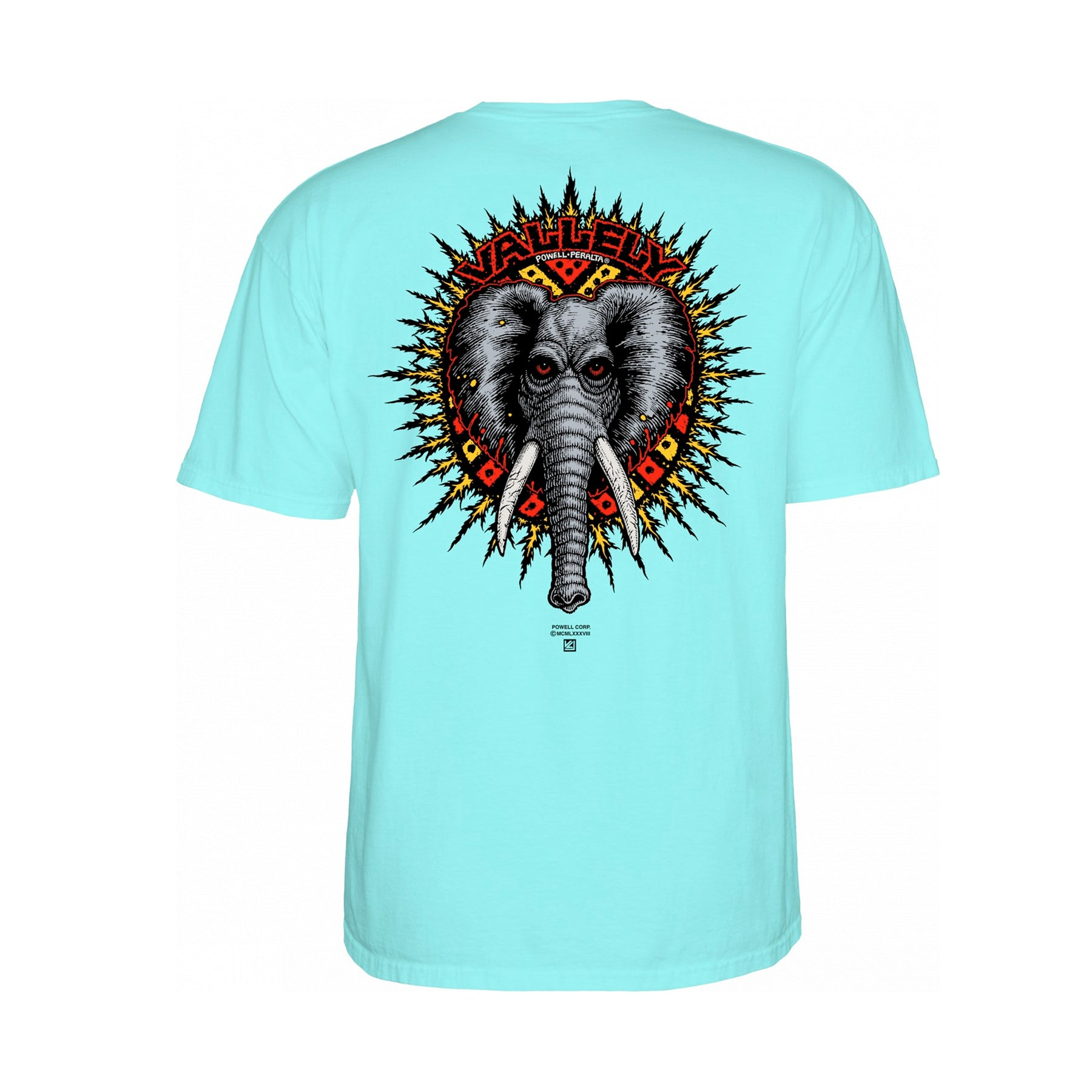 1f4e4b7a0 POWELL PERALTA MIKE VALLELY ELEPHANT CELADON MENS T-SHIRT - Urban Ave  Boardshop