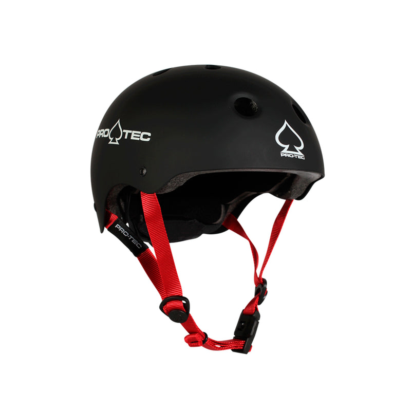 PRO-TEC JR CLASSIC FIT CERT MATTE BLACK SMALL - Urban Ave Boardshop