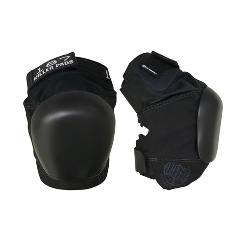 187 PRO DERBY KNEE  PAD (BLACK/BLACK)