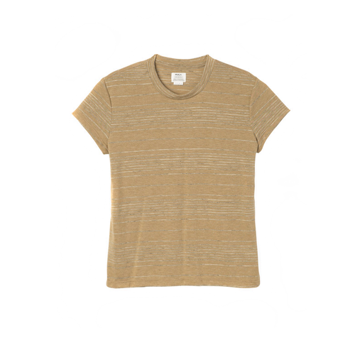 RVCA SUSPENSION 2 KNIT T-SHIRT BEESWAX