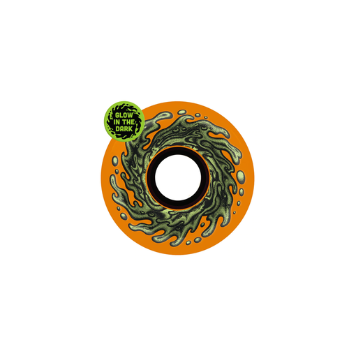SLIME BALLS WHEELS SLIME  ORANGE GLOW 78a 60MM