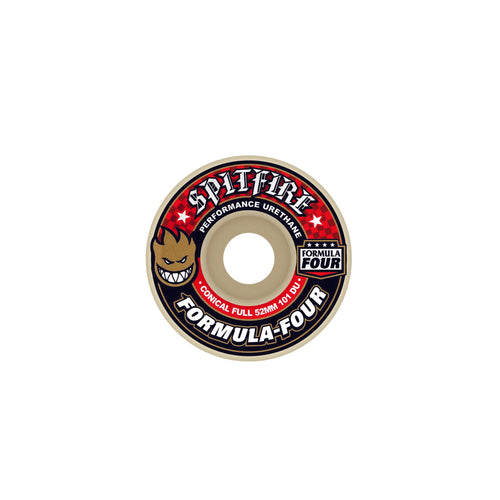 SPITFIRE F4 101D CONICAL FULL (red print) 53mm - Urban Ave Boardshop