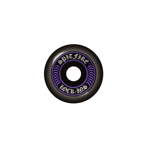 SPITFIRE F4 101 LOCK-INS MASH UP PURPLE/BLACK 55MM