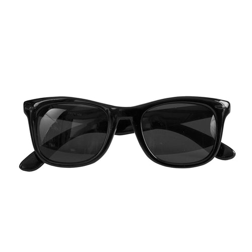 Santa Cruz Strip Shades Sunglasses Black OS Unisex