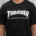 THRASHER T-SHIRTS SKATEMAG SS BLACK - Urban Ave Boardshop