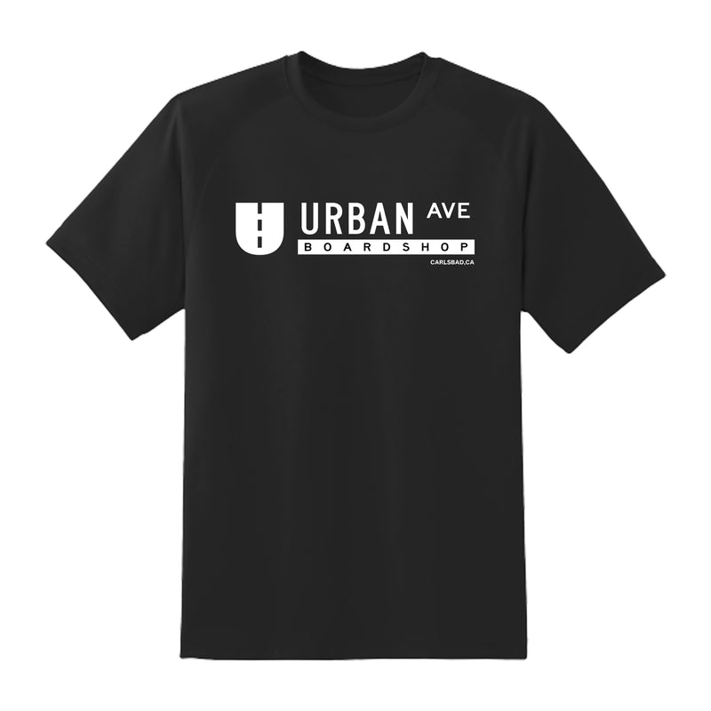 URBAN AVE BOARDSHOP TEE CARLSBAD
