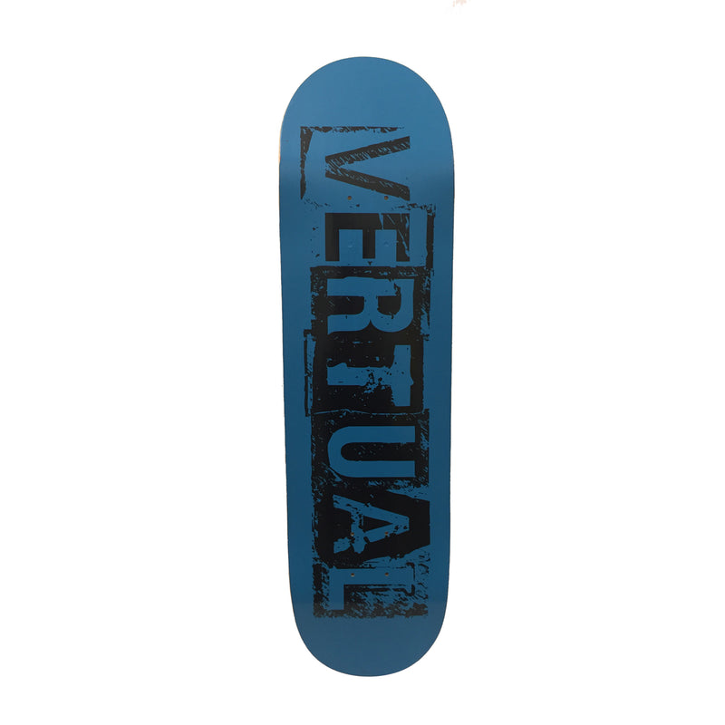 VERTUAL SKATEBOARDS TEAM BLUE 8 x 31.25