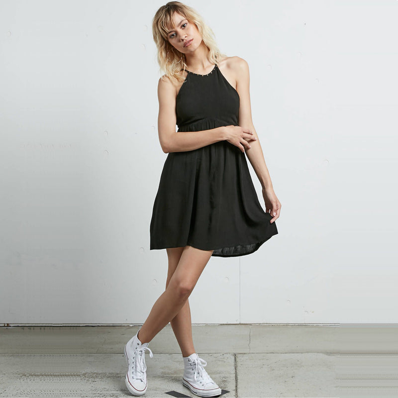 VOLCOM WHAT A STUD DRESS - Urban Ave Boardshop