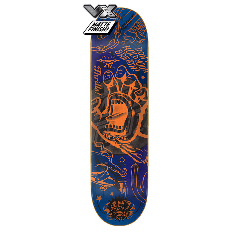 Santa Cruz Flash Hand VX Deck 8.8in x 32.5in - Urban Ave Boardshop