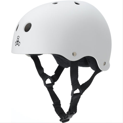 TRIPLE 8 Sweatsaver Helmet White Rub