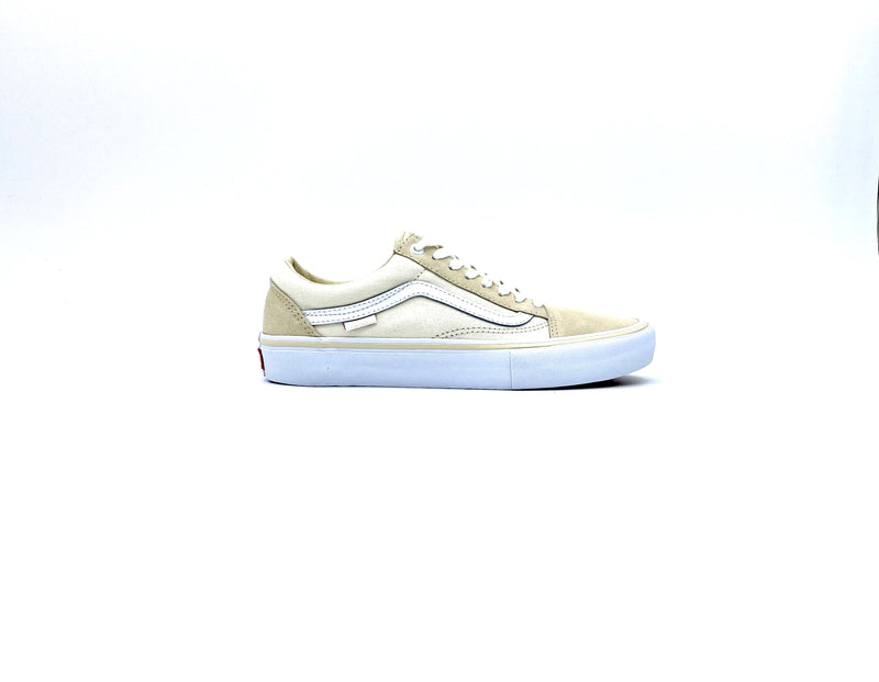 VANS OLD SKOOL PRO MARSHMALLOW/WHITE - Urban Ave Boardshop