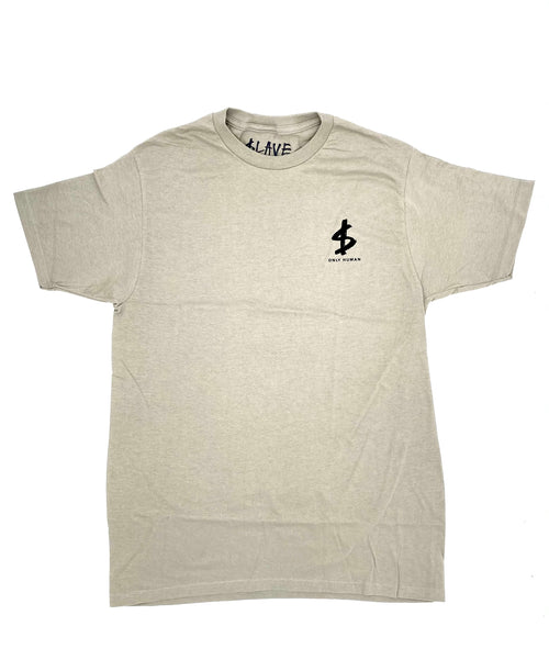 SLAVE Last Man S/S T - Concrete - Urban Ave Boardshop
