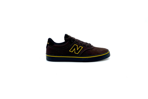 NEW BALANCE NUMERIC 255 BROWN/BLACK/YELLOW - Urban Ave Boardshop
