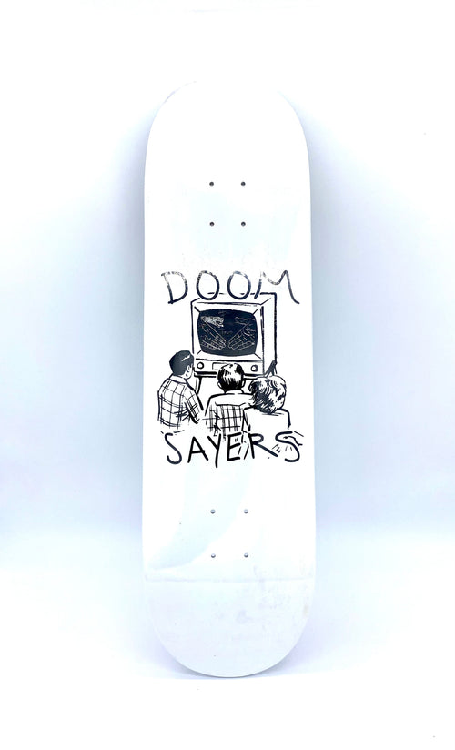"Doom Sayers Kill TV White - 8.5"" - Urban Ave Boardshop"