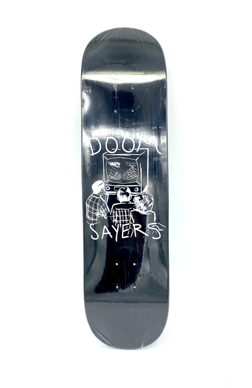 "Doom Sayers Kill TV Black - 7.75"" - Urban Ave Boardshop"