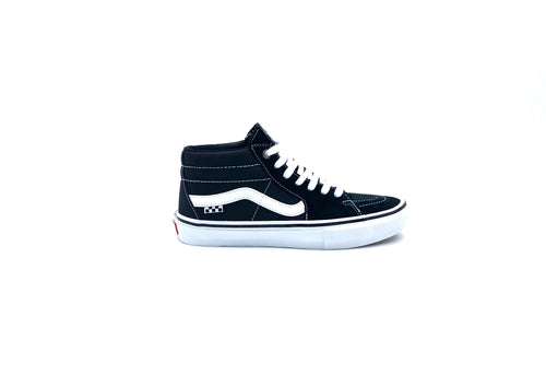 Vans Skate Grosso Mid BLACK/WHITE - Urban Ave Boardshop