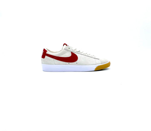 NIKE SB ZOOM BLAZER LOW GT SAIL /WHITE GUM LIGHT - Urban Ave Boardshop