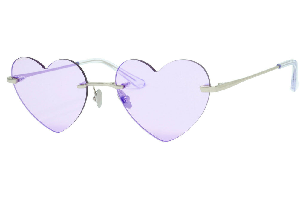 Verona Love Vintage Style Sunglasses Retro Fashion Flash Violet Lenses