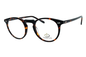 Verona Love Utah Hand Made Acetate Rx Able Eyeglasses Classic Vintage style - Blue Light Blocking Eyewear
