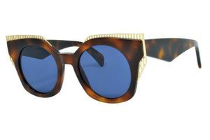 OXYDO O No 2.7 2IKKU Women's Designer sunglasses Tortoise Made in Italy