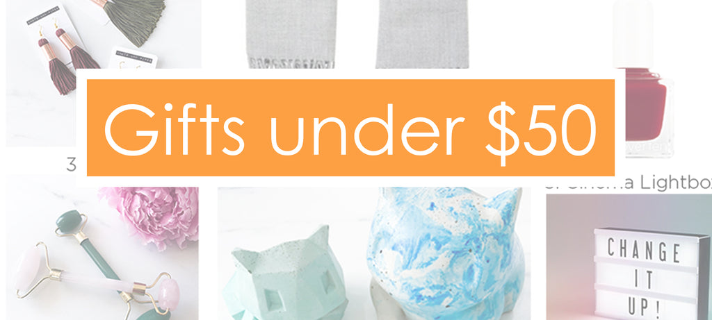 Gifts under $50 (2018)