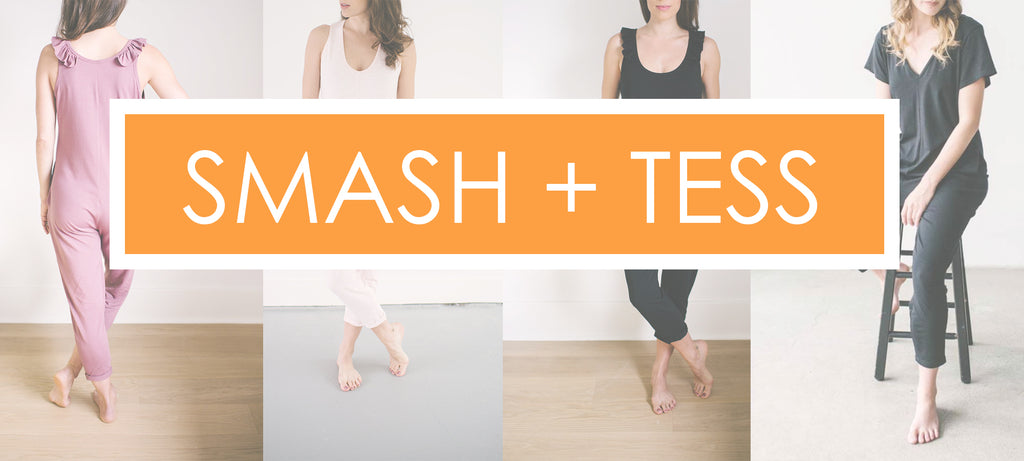 Smash and Tess Rompers